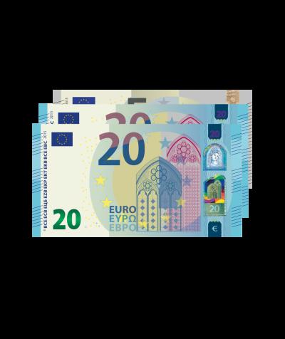 Barprämie (Wert 45 Euro)
