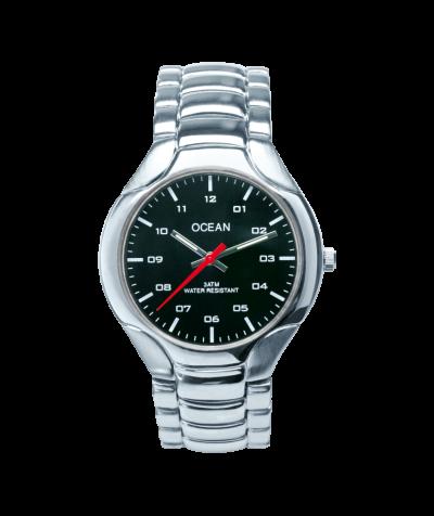 Ocean Armbanduhr (schwarz)