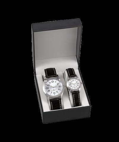 Uhren-Set (schwarz)