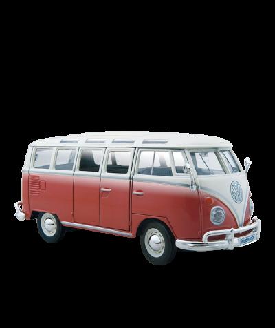 VW Bus im Maßstab 1:25