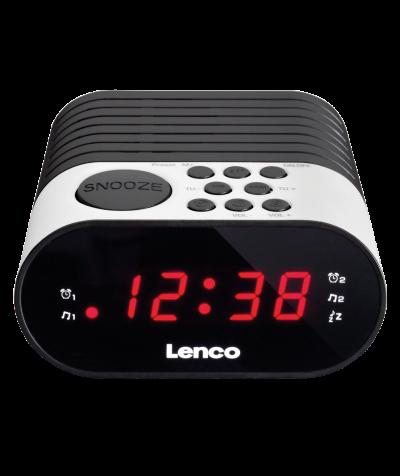 Lenco Radiowecker, weiß