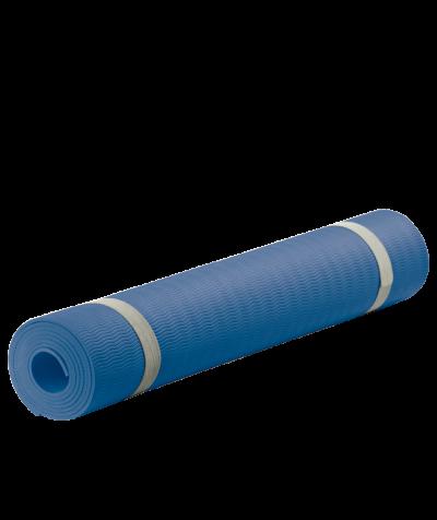 Fitness-Yogamatte, blau