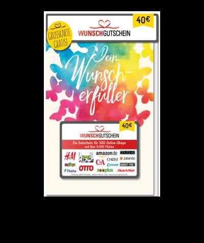 Wunschgutschein 40,00 EUR