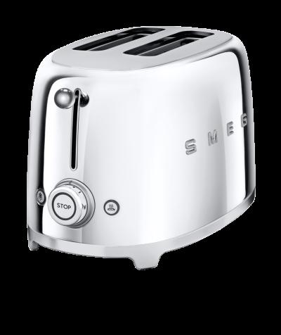 SMEG Toaster silber