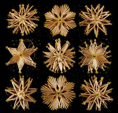 Stroh-Sterne