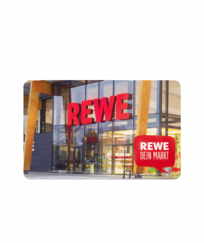 REWE Gutschein 65 EUR