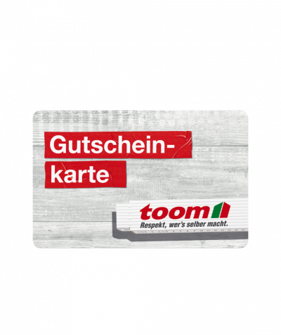 Toom Gutschein 30 EUR