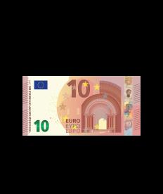 Barprämie (Wert 10,00 Euro)