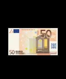 Barprämie (Wert 50 Euro)