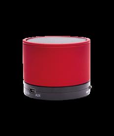 Lautsprecher Bluetooth, rot