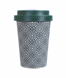 Bamboo Cup - Black&White