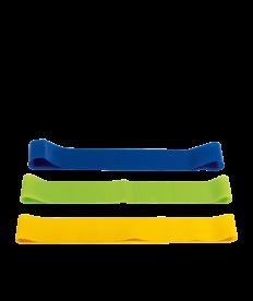 Fitnessbänder 3er Set mit Beutel