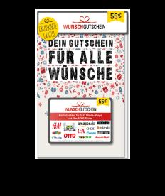 Wunschgutschein 55,00 EUR