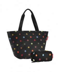 Reisenthel Set Shopper M+Multicase,dots