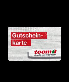 Toom Gutschein 55 EUR
