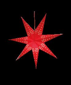 Weihnachts-Lichtstern, rot